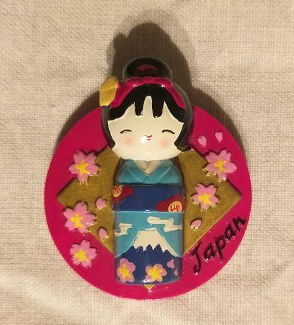 Pin made in japan para coleção com iman para se colocar no frigorífico