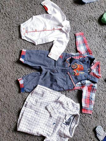 Zestaw ubrań, paka dla chłopca rozmiar 56