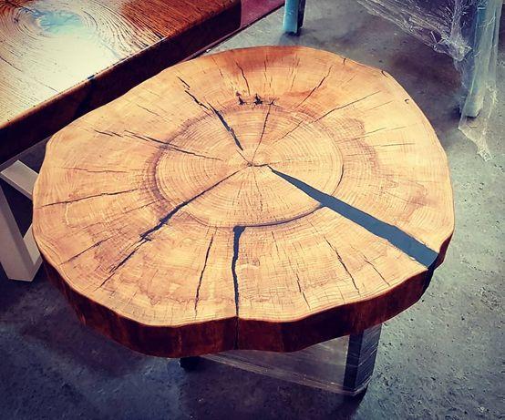 Стол кофейный, журнальный. Стол из натурального дерева ясень - 19 %