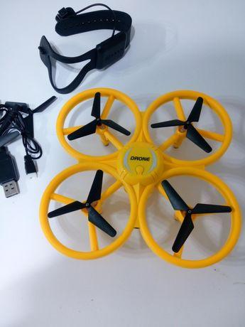 Dron Sterowany Opaską na rękę LED Mini Ufo Osłony Akumulator Ładowark
