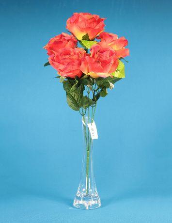 Kwiat sztuczny / Róża Bukiet x 5