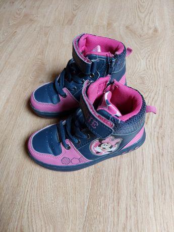 Buty sportowe buciki dziewczęce adidasy myszka minnie