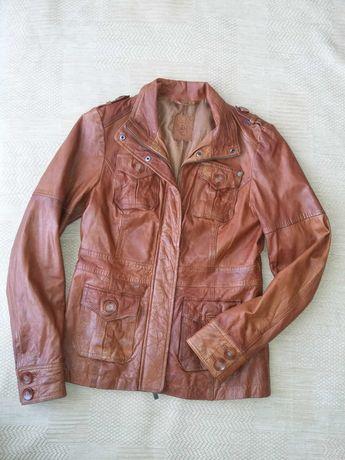 Куртка демисезонная, пиджак кожанный