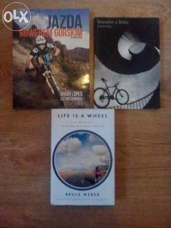 Pakiet książek rowerowych/enduro, 3 pozycje. B.Lopes i Lee Mccormack