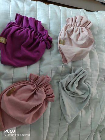 Czapki turbany rozmiar 4-12 miesięcy