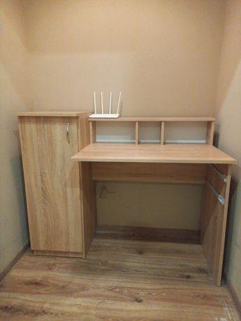 Письменный стол с тумбой и выдвижными ящиками