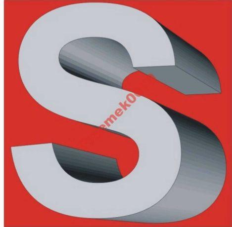 Litery 3D STYRODUR 20cm x 4 cm litera, cyfry, reklama