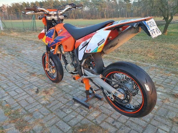 KTM EXC 525 supermoto, 2006 zarejestrowany