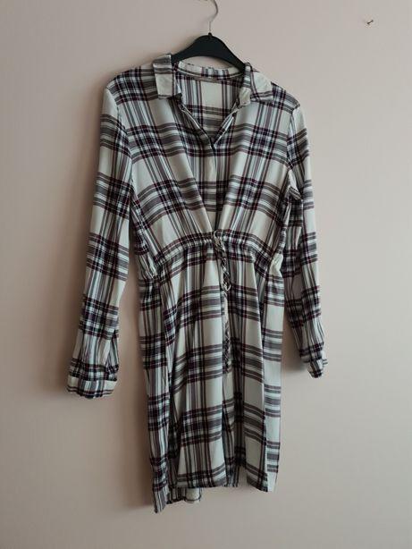 Tunika sukienka w krate Orsay rozm 38