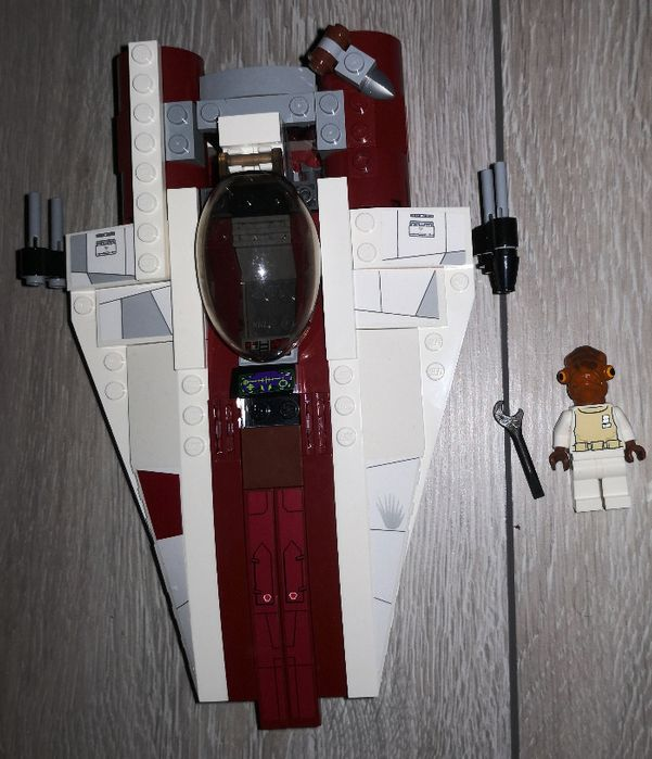 Zestaw LEGO Star Wars 75003 A-Wing StarFighter Kłodawa - image 1