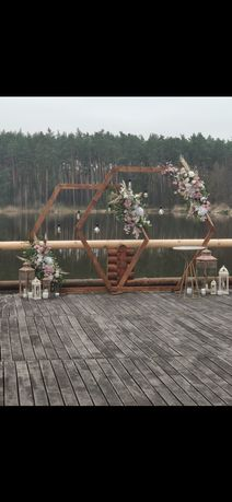 Арка деревянная, свадебная, разборная, для фотосессии
