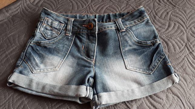 Spodenki jeans 116
