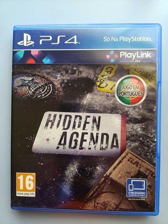 Jogo Hidden Agenda Playstation 4 (PS4)