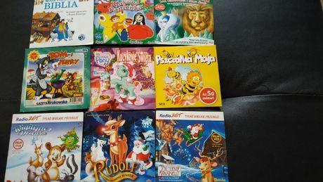 Bajki dla dzieci na VCD i DVD