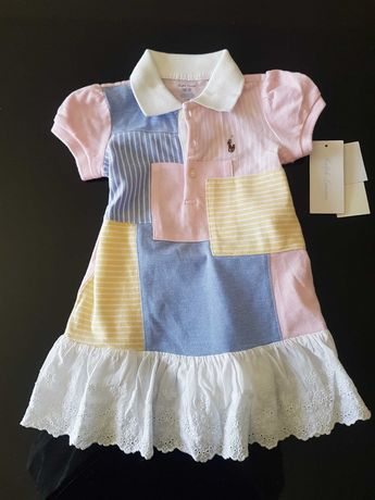 Vestido bebe_RALF LAUREN 12meses_NOVO