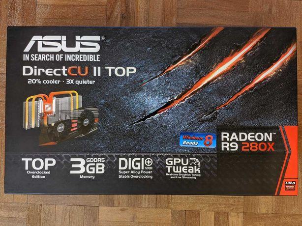 Placa gráfica ASUS R9 280X DirectCU II (com problema)