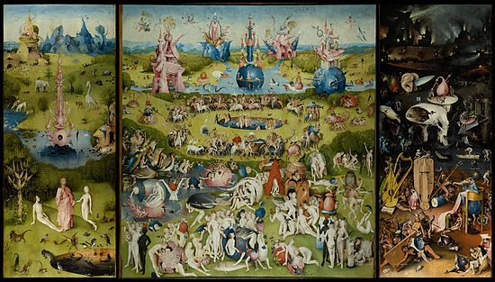 Puzzle 9000sztuk Hieronymus BoschThe garden of earthly delights