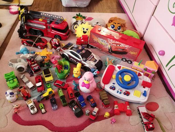 Zestaw zabawek Psi Patrol Zygzak McQueen Pidżamersi Auto interaktywne