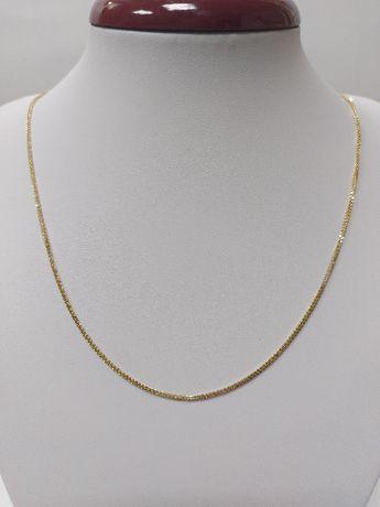 Złoty łańcuszek próba 585, 60 cm komunia