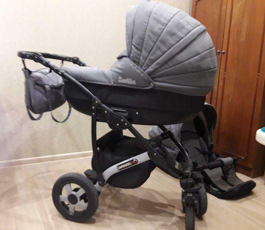 Дитяча універсальна коляска Camarelo Sevilla 2 в 1 сірого кольору
