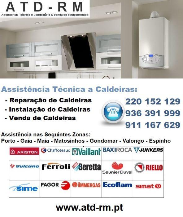 Assistência Técnica e Reparação de Caldeiras e Esquentadores Vila Nova de Gaia - imagem 1