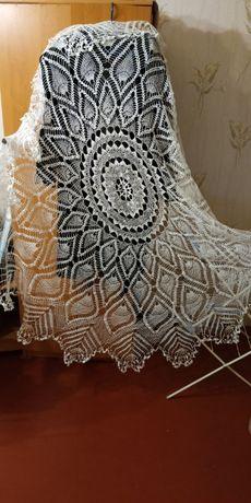 Продам скатерть из льняной пряжи