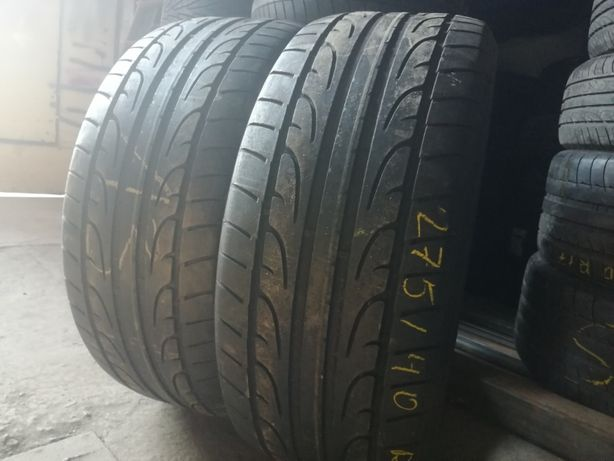 лето 275/40/R21 5,8мм 2015г Dunlop SP Sport MAXX 2шт Летняя резина