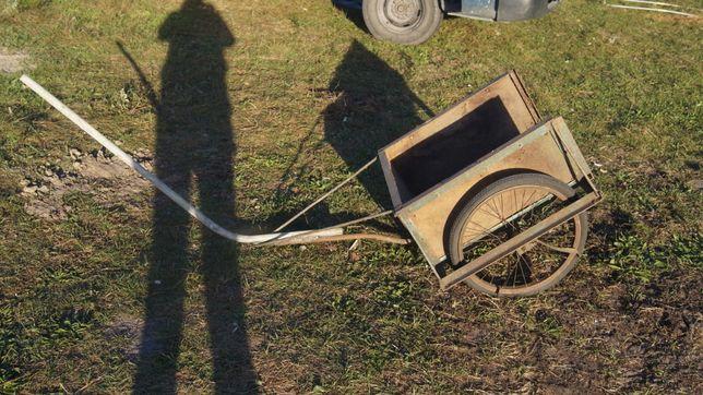 Wózek ogrodowy ogrodniczy solidny wys 30 szer 55 dł 60 caly 210 cm