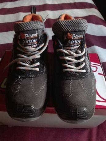Sapatos UPower biqueira de aço - Novos