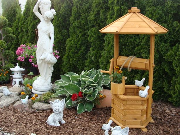 Studnia ogrodowa dekoracyjna/ poidło dla ptaków PRODUCENT