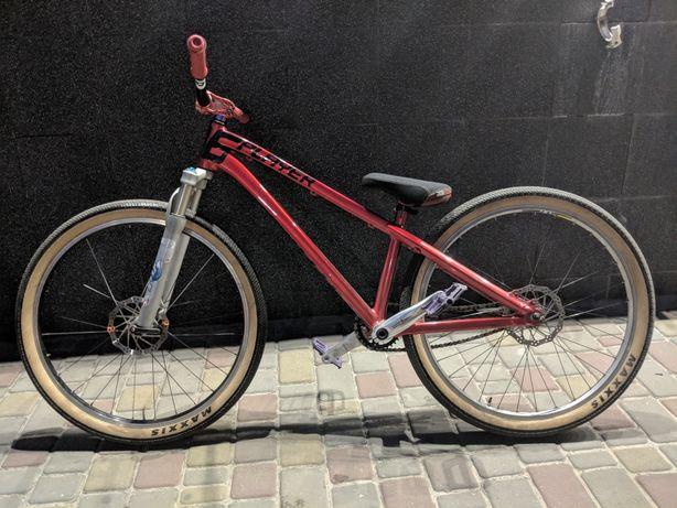 Велосипед mtb dartmoor 26player двухподвес dirt street