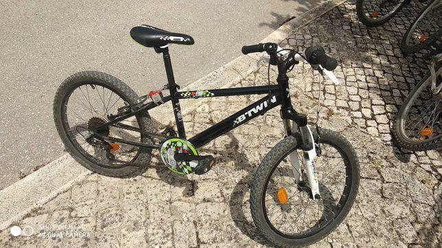 Bicicleta criança btt