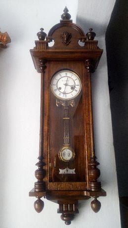 Часы настенные. антикварные с боем Junghans 1906г прекрасное состояние