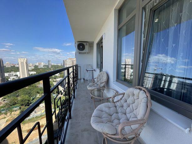 Сдается квартира с террасой, 22 этаж, Аркадия!