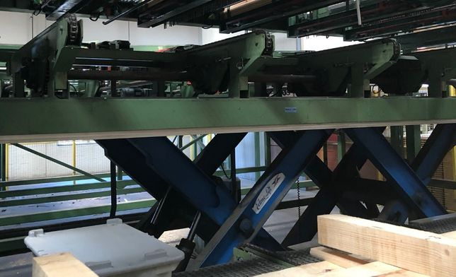 podnośnik przemysłowy 8 ton nożycowy rampa załadowcza hydrauliczna