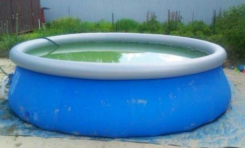 Продам Бассейн Bestway fast set pool