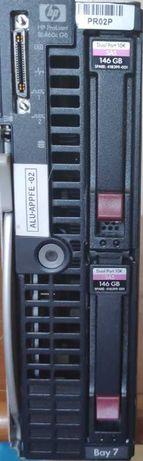 Servidores HP ProLiant BL460c G6 - Blade System