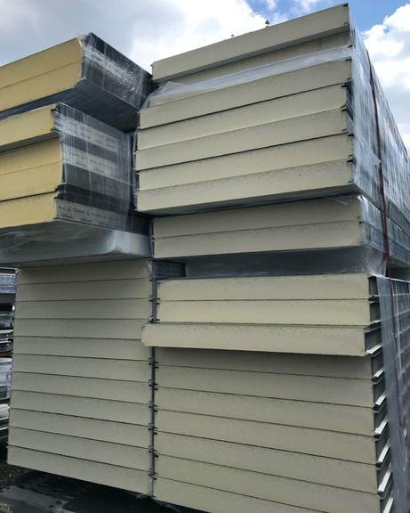 Płyty warstwowe PUR, płyta warstwowa, blacha dachowa, kontenery, garaż