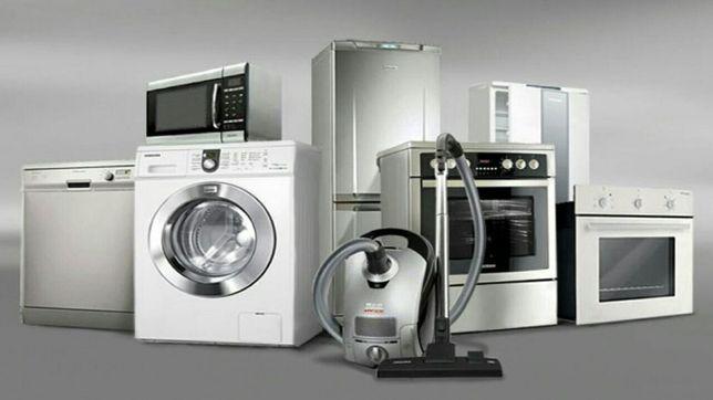 Ремонт стиральных машин, холодильников, микроволновок, пылесосов и др.