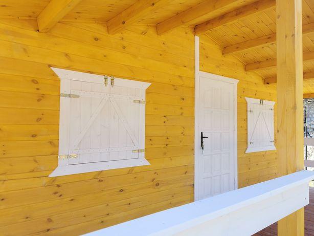 Domek drewniany Altana domki 500x6000+Taras 6000x2000mm Altany