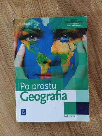 Po prostu geografia.. podręcznik.. zakres podstawowy.. wyd WSiP