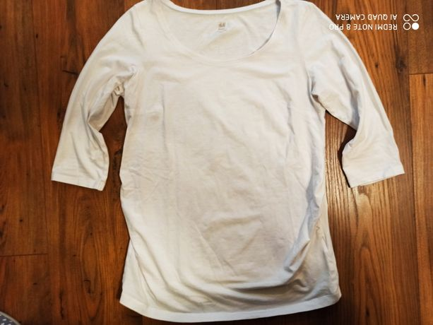 Koszulka ciążowa na 3/4 rękawka, firmy H&M