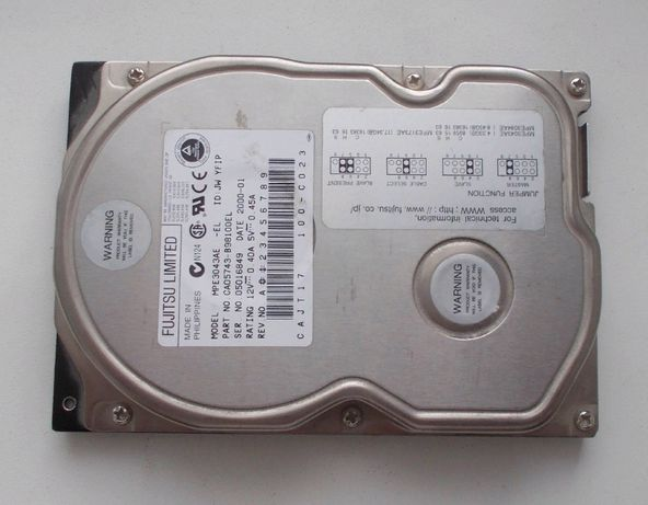 HDD Fudjitsu 4,3 Гб
