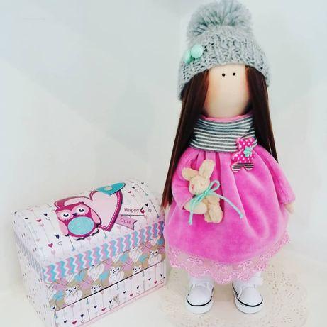 Интерьерная кукла куколка текстильная ручной работы