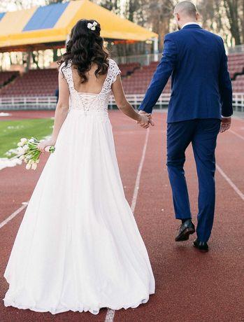 Свадебное платье из салона Ажур, весільна сукня