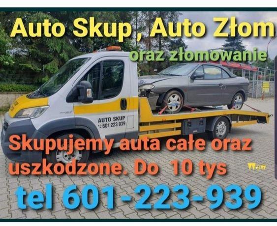 Skup Aut Samochodów, Auto złom złomowanie odbiór lawetą Najlepsze Ceny