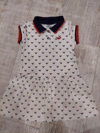 Платье Armani на девочку рост 110