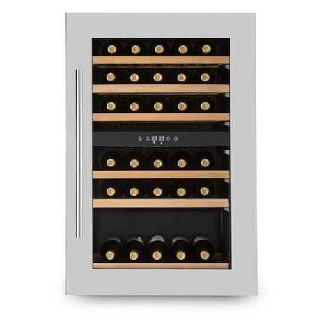 Chłodziarka lodówka na wino do zabudowy Klarstein 128 l 41 butelek