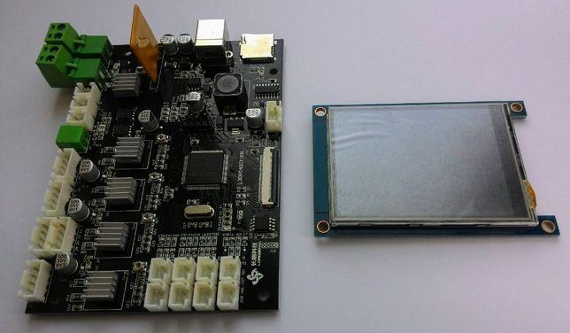 3D принтер. Материнська плата Alfawise U20 + сенсорний екран