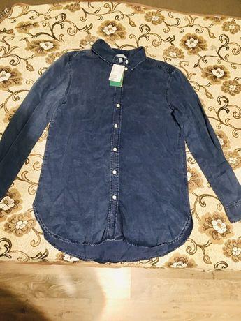 Сорочка жіноча, рубашка, блузка h&m, розмір 36 (s)